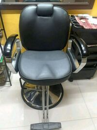 black leather padded rolling chair Miami, 33142