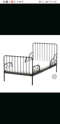 black metal bed frame screenshot Arlington, 22201
