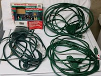3 Outdoor Grounded Extension Cords  Stafford, 22556