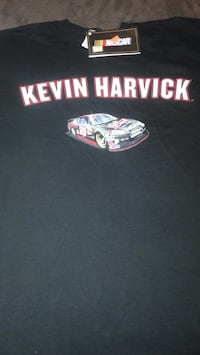 Kevin Harvick authentic NASCAR tee/ Lg Pearl, 39208
