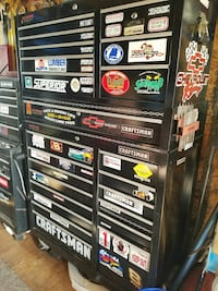 Craftsman tool boxes and tools