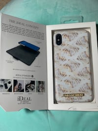 iDeal of Sweden Marble Seashells Case