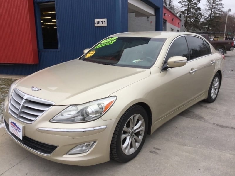 *Clean Carfax* 2012 Hyundai Genesis 4dr - GUARANTEED CREDIT APPROVAL 0