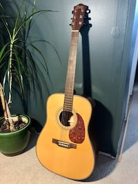 6-string Acoustic Guitar w Case