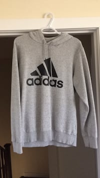 gray and black Adidas pullover hoodie Richmond Hill, L4S 1C8