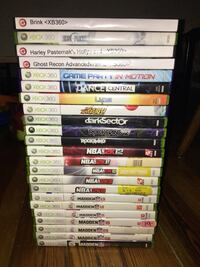 assorted Xbox 360 game cases Somerville, 02145
