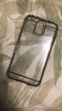 Black and gray iphone case