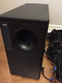 Bose Acoustimass 15 Home Theater Speaker System with 2 Stands TORONTO