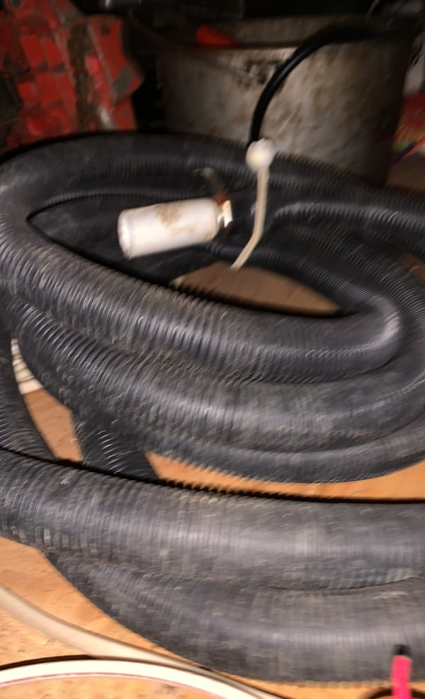Plastic sump pump piping 20 foot 0
