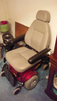 red and gray motorized wheelchair Aberdeen Proving Ground, 21005