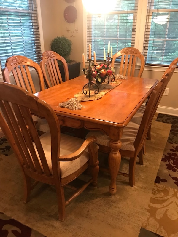 Marvelous Solid Cherry Wood Dining Room Set Caraccident5 Cool Chair Designs And Ideas Caraccident5Info