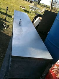 Stainless steel truck bed tool box