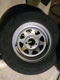 13/14/15 in.Trailer tires with rims Suitland-Silver Hill