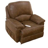 brown suede recliner sofa chair Midwest City, 73110