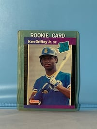 1988 Donruss Card Ken Griffey Jr. Rookie Card