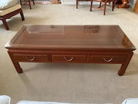 Rosewood living room coffee table Dumfries, 22025