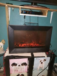 Electric fireplace heater with remote  London, 43140