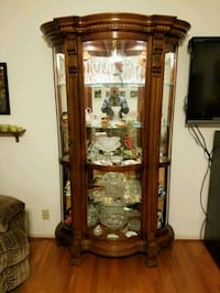 Solid wood lighted china cabinet, pie safe, table  Fort Campbell, 42223
