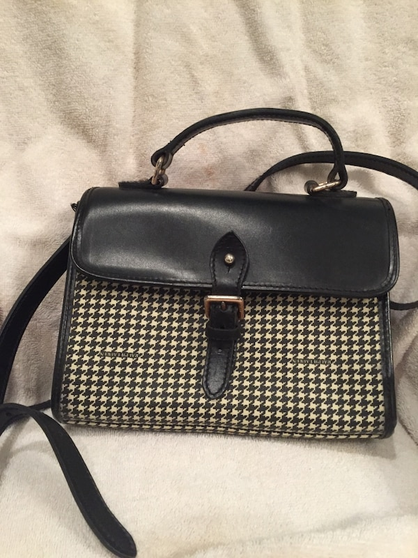 e1c9401b6c7c Used Ralph Lauren black and white houndstooth purse for sale in Athens -  letgo