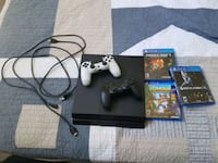 Sony PS4 console with controller and game cases Salisbury, 28146