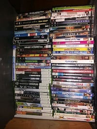 Lots and lots of dvds,blue rays, xbox 360 games.. Lafayette, 80026