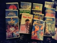Walt Disney movies 11 @ 3$ ea