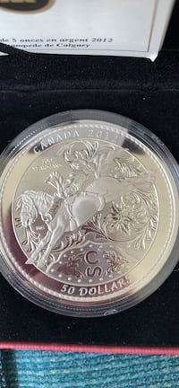 Canadian mint commemorative coin Calgary, T3G 4X3
