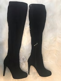 Guess Thigh-High Suede Boots Vaughan, L6A 1E8