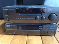 Kenwood receiver, multiple CD player, and speakers Vancouver, V5T