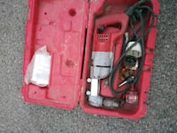 red and gray power tool Chicago, 60639