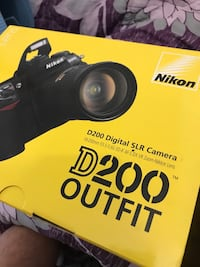 Nikon D200 Outfit including 18-200 f3.5 Nikkor lens Moscow, 127006