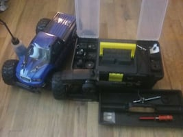 Gas rc car