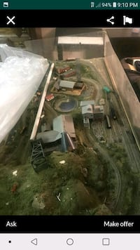N guage . wired professional train set Louisville