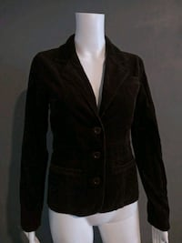 ***WOMEN'S SMALL BROWN JACKET!***