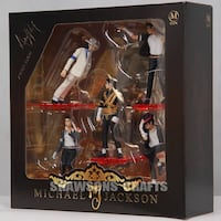 Michael Jackson action figure 5'li set.