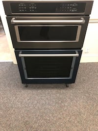 Brand New black stainless steal Whirlpool Wall Microwave/Oven Charlotte, 28134