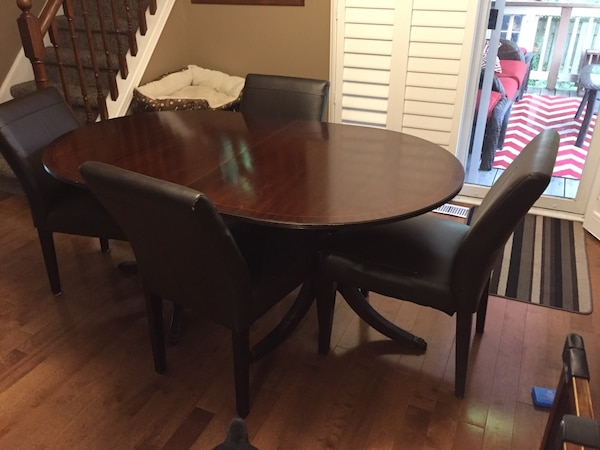 Solid Wood Dining Table And Chairs HomeOther Hamilton
