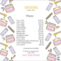 waxing Mississauga