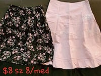 Bundle of skirts sz 8  Stockton, 95207