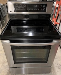 LG Electric Glass CookTop Stove Convection Oven (Finance Available)
