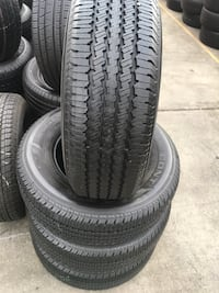 Set Continental 265/70/17 semi new tires  Santa Ana, 92701