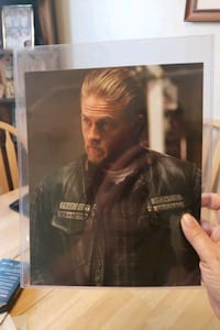 Signed autographed picture of Jax from Sons  Toronto, M1K 3B3