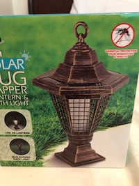 2 in 1 bug zapper latern and path light solar Toronto, M9R 1T4