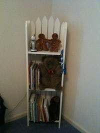 Solid wood picket fence bookshelf  Jacksonville, 32246