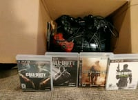 PS3 4 controllers all of the cl of duty games  Mississauga, L5K 2G4