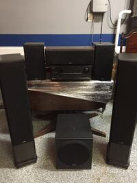 Onkyo 5.1 w Polk Audio Speakers Knoxville, 37922