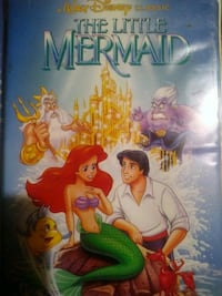 The little mermaid vhs with explicit case