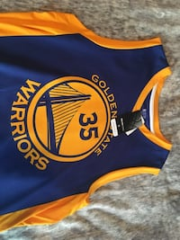 NEW w/tags FANATICS NBA Kevin Durant jersey Cambridge