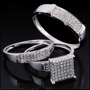 Wedding ring Set Size7 for her and 10 for him