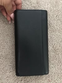 COACH Pebbled leather trifold Wallet Windsor